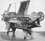 he Paige Compositor, an automated typesetting machine from the late nineteenth century.